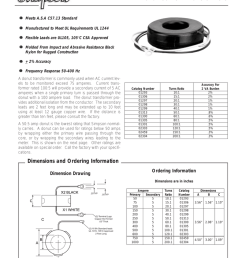 donut current transformers accessories donut ct wiring diagram [ 791 x 1024 Pixel ]