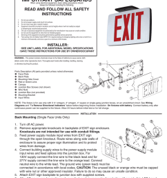 important safeguards compass lighting productsled exit sign wiring diagram 18 [ 791 x 1024 Pixel ]
