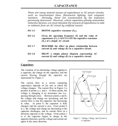 basic ac reactive components capacitance capacitance there are many natural causes of capacitance in ac power circuits such as transmission lines  [ 791 x 1024 Pixel ]