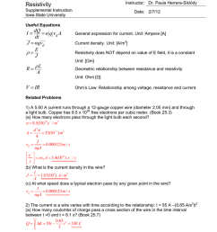phys 222 worksheet 10 current and resistivity answers [ 791 x 1024 Pixel ]