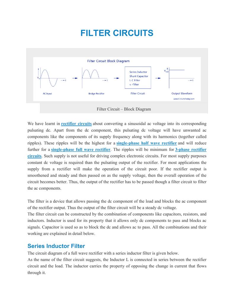 medium resolution of filter circuit diagram