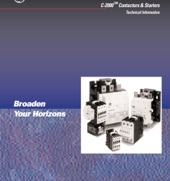 c 2000 contactors and starters electrical contactor diagram cl01a310t contactor wiring diagram 20 [ 791 x 1024 Pixel ]