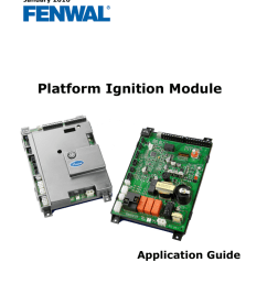 f 35 1000 january 2016 platform ignition module application guide table of contents chapter 1 product overview and description 1 1 introduction  [ 791 x 1024 Pixel ]