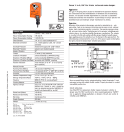 120 vac torque 18 in lb 250 f for 30 min for fire and smoke dampers application the type fstf spring return actuator is intended for the operation of  [ 791 x 1024 Pixel ]