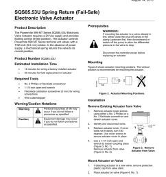 sqs85 53u spring return fail safe electronic valve [ 791 x 1024 Pixel ]