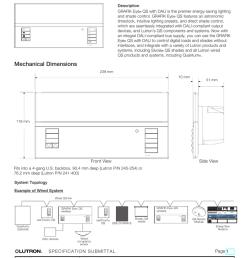 grafik eye qs control unit with dali ce graffix eye wiring diagram  [ 770 x 1024 Pixel ]