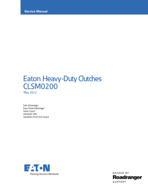 small resolution of eaton 9 speed clutch linkage diagram