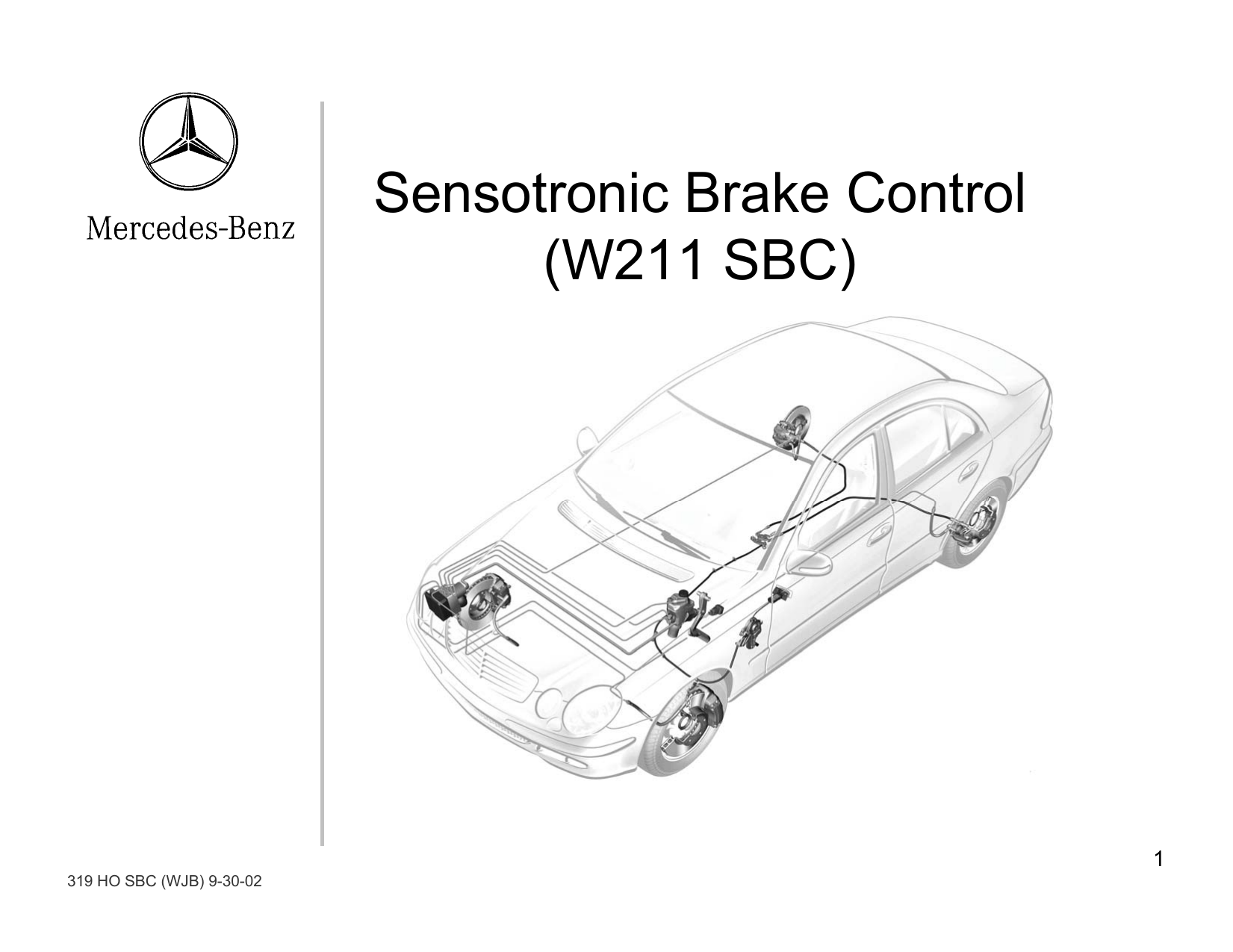 hight resolution of sensotronic brake control