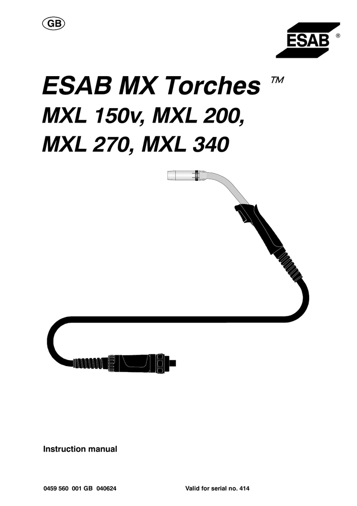 ESAB MX Torches