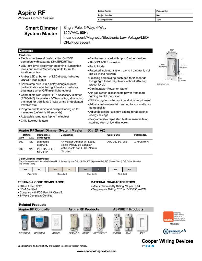 medium resolution of aspire smart dimmer wiring diagram