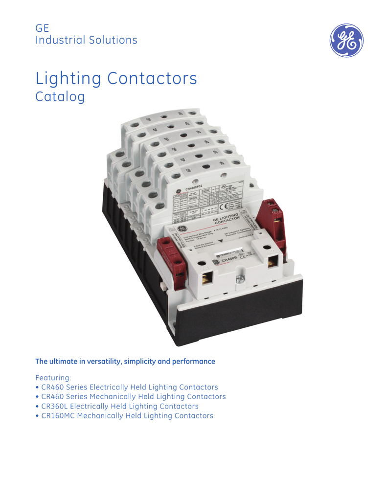 ge lighting contactor wiring diagram 2000 subaru forester stereo contactors industrial solutions