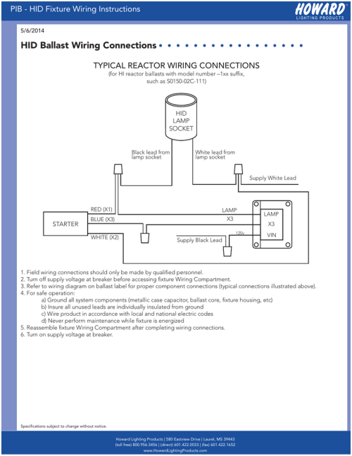 small resolution of hid light 277v electrical wiring diagram