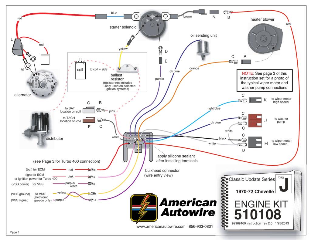 hight resolution of engine wiring kit 1970 1972 chevelle wiring dash lights further 1970 chevelle kick down switch wiring