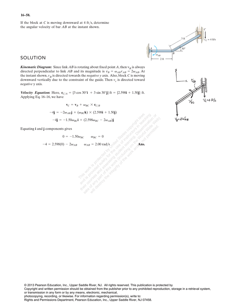 hight resolution of kinematic diagram