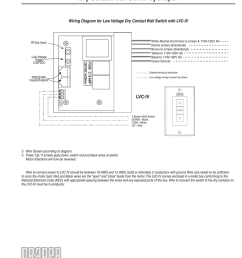 wiring instructions dry contact wall switch by draper wiring diagram for low voltage dry contact wall switch with lvc iv white neutral common to screen  [ 791 x 1024 Pixel ]