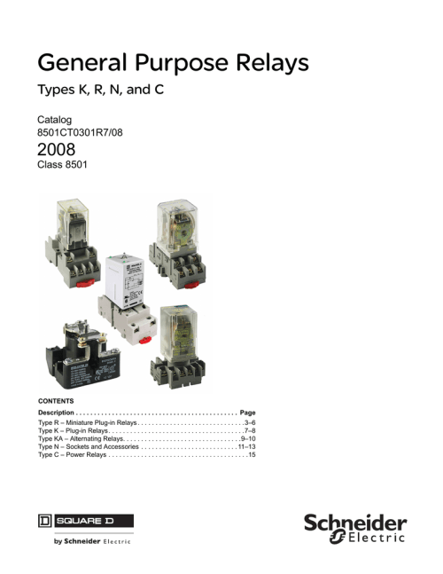 small resolution of square dr relay type kp12v20wiring diagram
