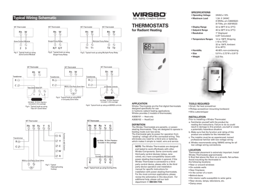 small resolution of specifications operating voltage maximum load typical wiring schematic thermostats for radiant heating display range setpoint range resolution