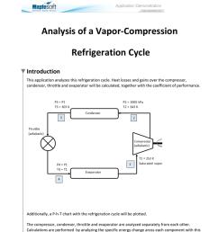 vapour compression refrigeration cycle t  diagram [ 791 x 1024 Pixel ]
