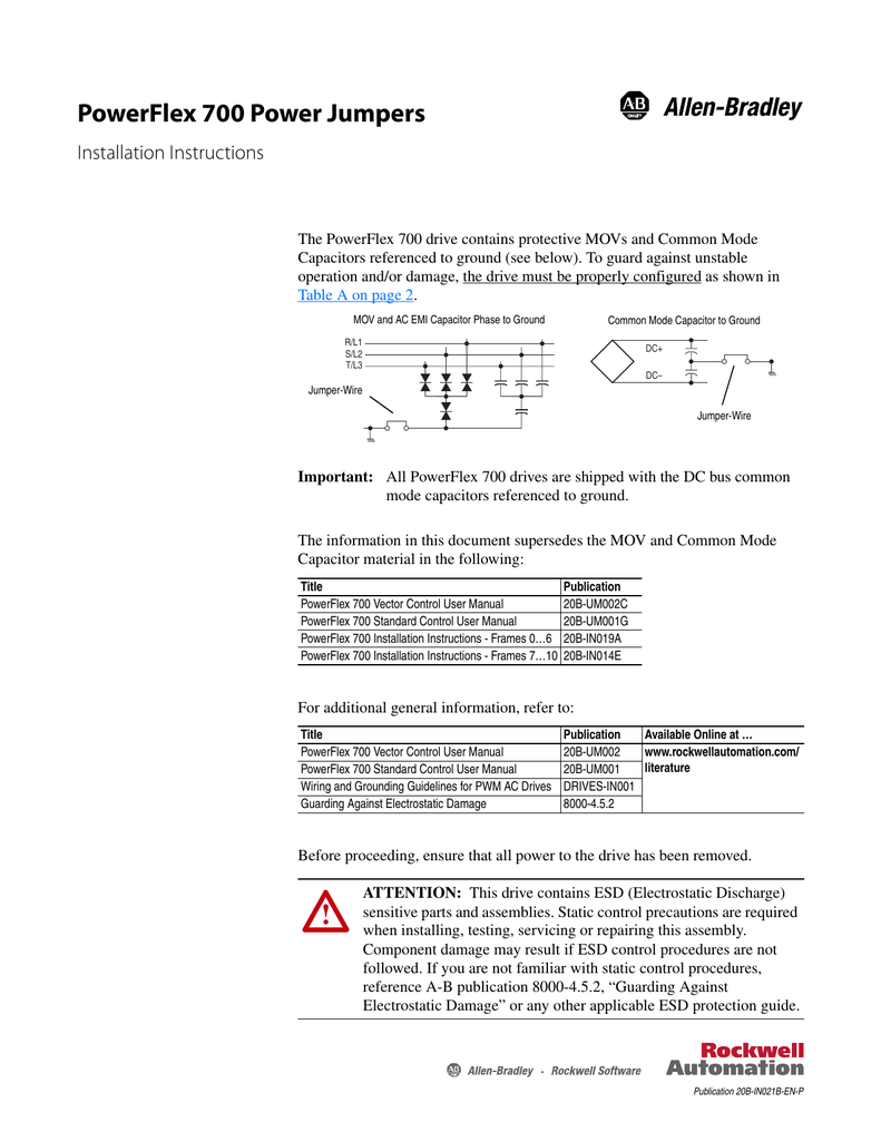 hight resolution of powerflex 700 power jumpers powerflex 700 feedback wiring diagram
