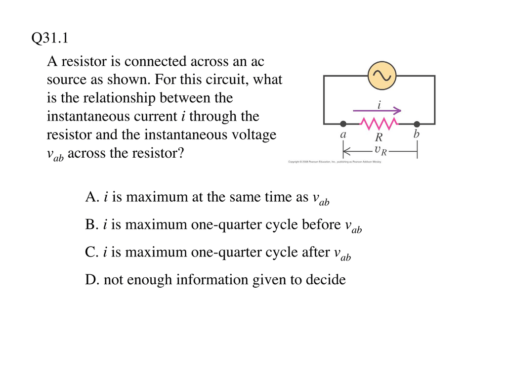 Max Current Through An Inductor