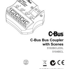 Cbus Dali Wiring Diagram Sony Cdx F5710 Gateway C Bus Coupler With Scenes