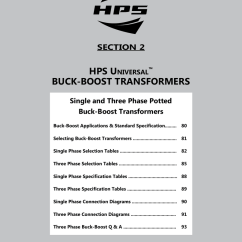Hps Fortress Wiring Diagram 5 Pin Relay Hammond Transformer Diagrams Best Library On Buck Boost Transformers Power Solutions