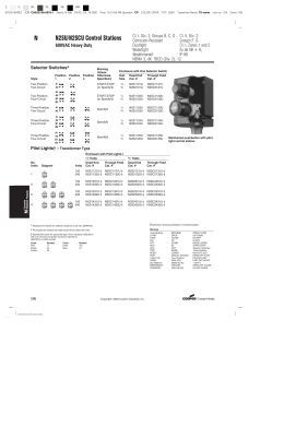 4C Replacements for Pushbutton and Selector Switch Control
