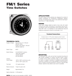 fm 1 series time switches applications the fm 1 series of time switches are designed for control of heating ventilating air conditioning refrigeration  [ 791 x 1024 Pixel ]