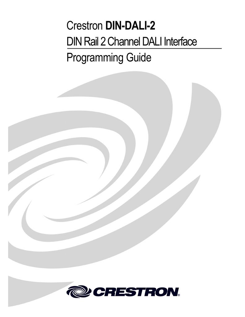 Programming Guide: DIN-DALI-2