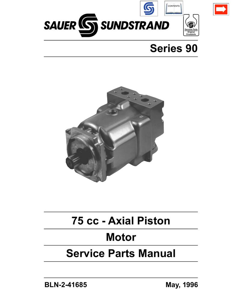 Sundstrand Motor Identification