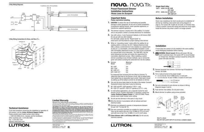 lutron nf 10 wiring diagram 3 wire trailer light diagram