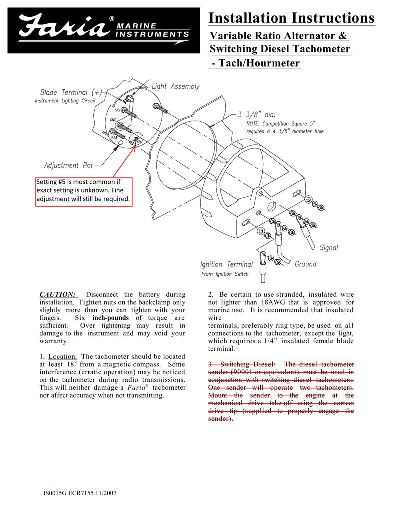medium resolution of faria tach wiring wiring diagrams lolfaria tach wiring wiring library faria tach trigger wiring enchanting faria