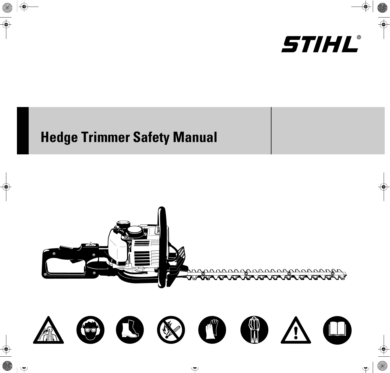 Stihl Hedge Trimmer Spare Parts List Repair Manual