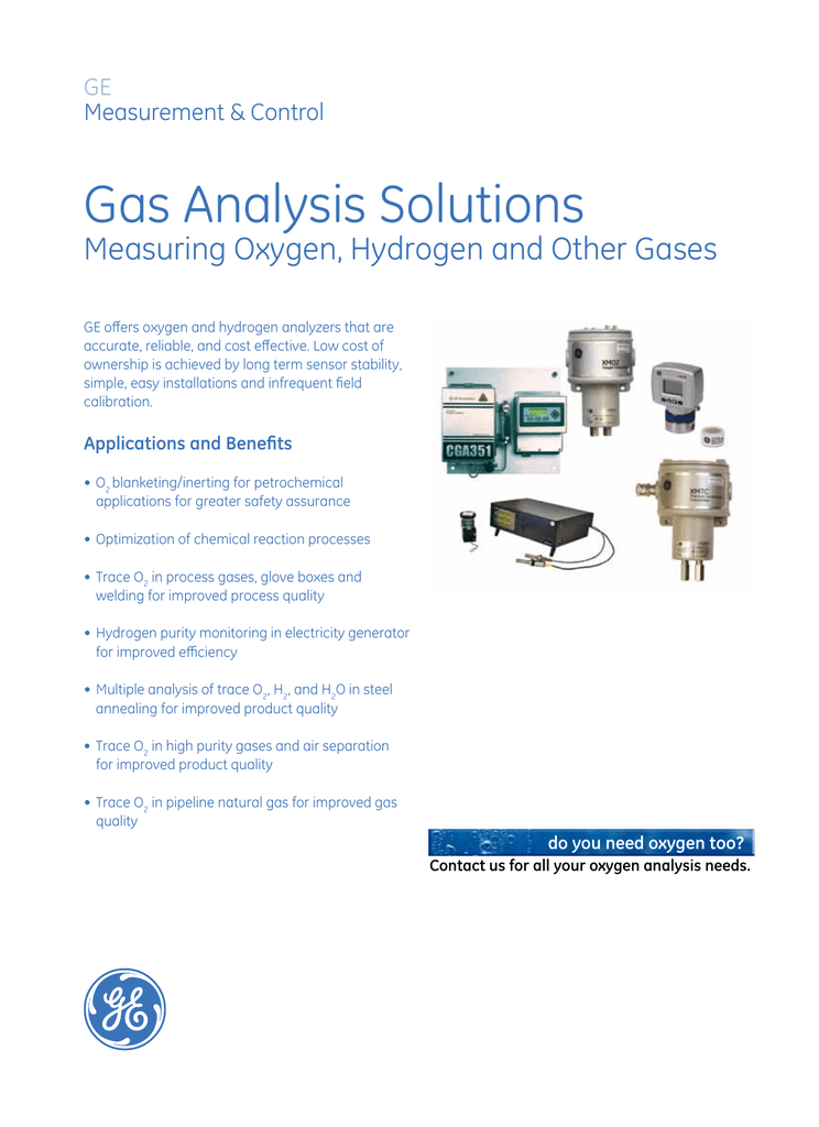 gas analysis solutions measuring