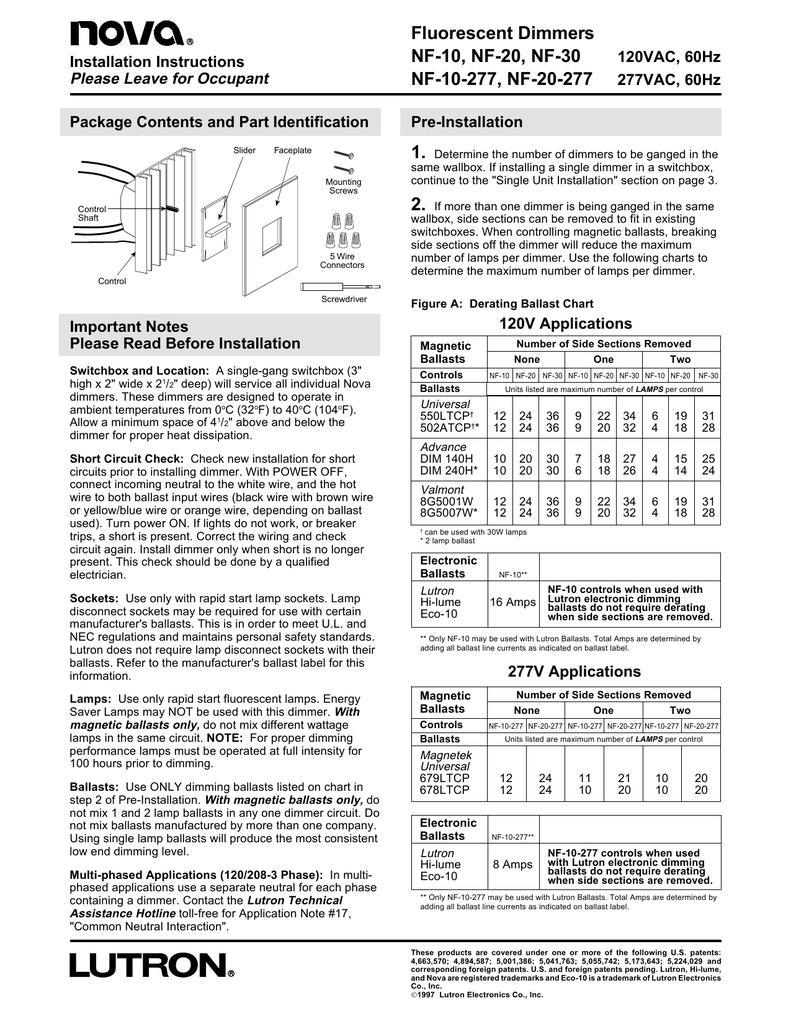 medium resolution of installation manuallutron nf 10 wiring diagram 2