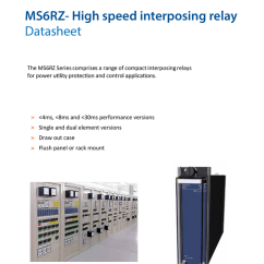 Interposing Relay Panel Wiring Diagram Heil Heat Pump Ms6rz High Speed Datasheet