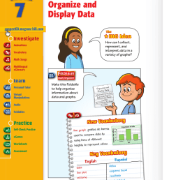 Organize and Display Data - Macmillan/McGraw-Hill [ 1024 x 800 Pixel ]