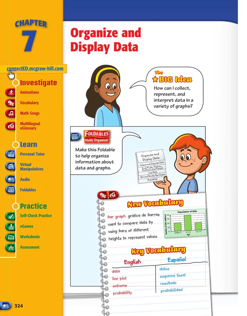 medium resolution of Organize and Display Data - Macmillan/McGraw-Hill