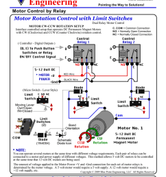 switch wiring diagram of motor control [ 793 x 1024 Pixel ]
