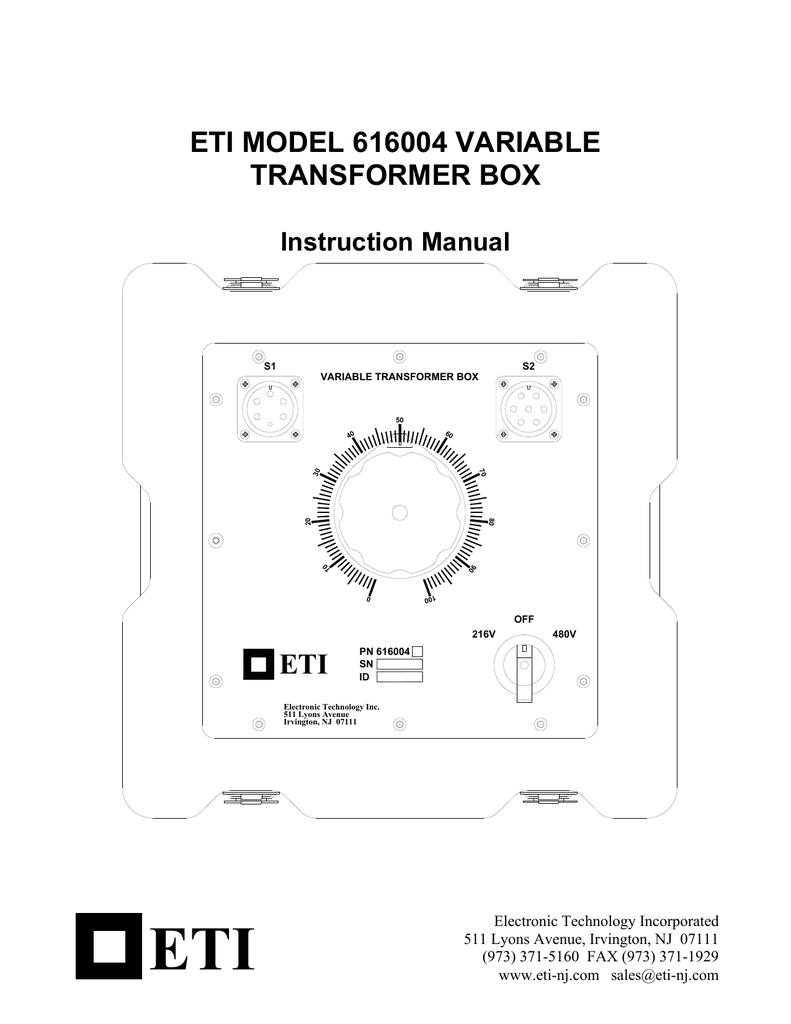 hight resolution of variable transformer diagram