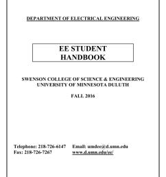4 year plan umn ee student handbook university of minnesota duluthdepartment of electrical engineering ee student handbook swenson college of [ 791 x 1024 Pixel ]