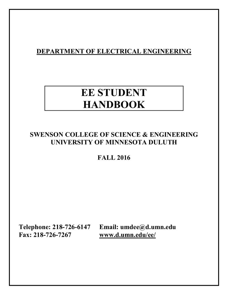medium resolution of  4 year plan umn ee student handbook university of minnesota duluthdepartment of electrical engineering ee student handbook swenson college of