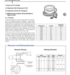 donut current transformers accessories dc wiring diagram donut ct wiring diagram [ 791 x 1024 Pixel ]
