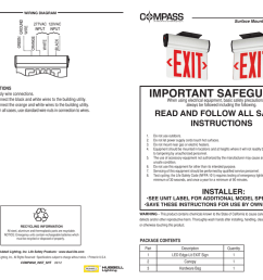 cels wiring diagram surface mount led emergency exit important safeguards when using electrical equipment basic safety precautions should electrical  [ 1024 x 791 Pixel ]