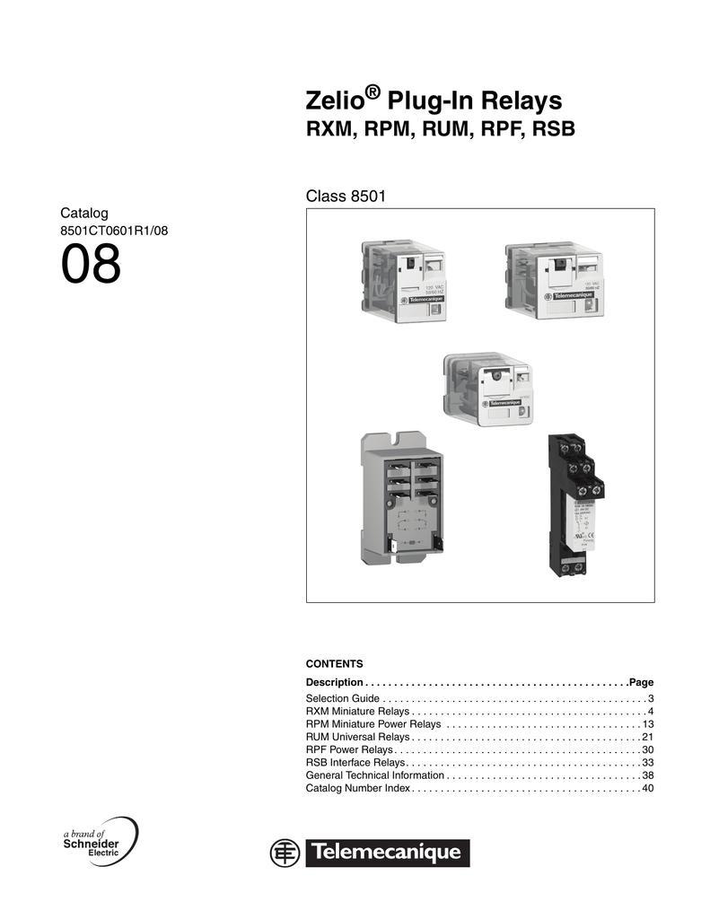 hight resolution of zelio plug in relaysrelays class 8501 8 pin wiring diagram 6