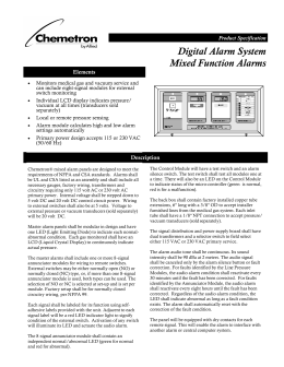 Digital Alarm System Mixed Function Alarms With Gas