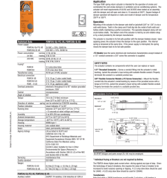 350 f for half hour 15 seconds cycle time application the type fsnf spring return actuator is intended for the operation of smoke and combination fire  [ 791 x 1024 Pixel ]