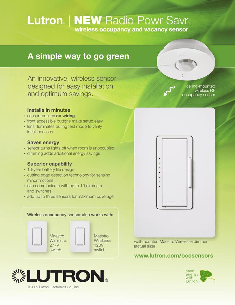 hight resolution of lutron ceiling occupancy sensor wiring diagram