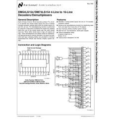 4 to 16 decoder logic diagram [ 791 x 1024 Pixel ]
