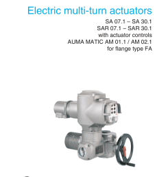 multi turn actuators sa 07 1 sa 30 1 sar 07 1 [ 791 x 1024 Pixel ]
